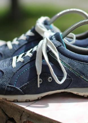 Кожаные кроссовки geox 37-38