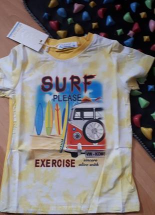 Яркая футболка серфинг венгрия