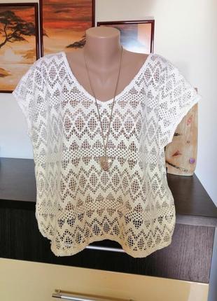 Фирменная  блуза.  52-54р