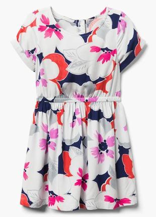 Летнее самое цветочное платьице от gymboree
