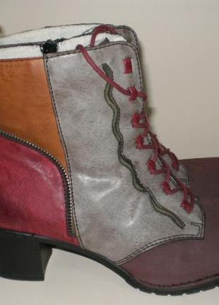 Зимние ботинки rieker (рикер) 41р
