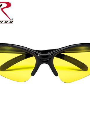Очки солнцезащитные спортивные rothco yellow