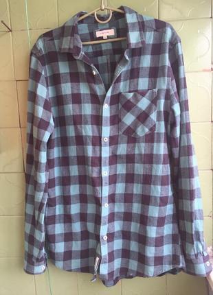 3764b9539359b9a Мужские рубашки в клетку River Island 2019 - купить недорого мужские ...