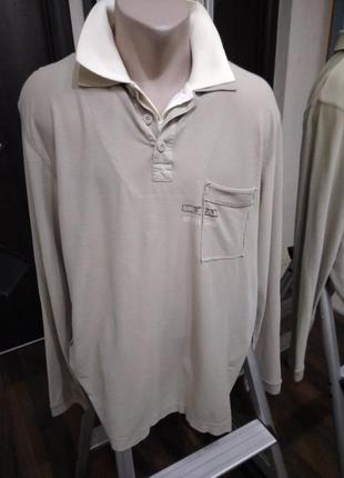 Лонгслив футболка с длинным рукавом в базовом цвете оригинального дизайна