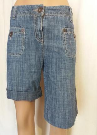 Скидки!!!!!!! джинсовые шорты для пышных форм 100% котон