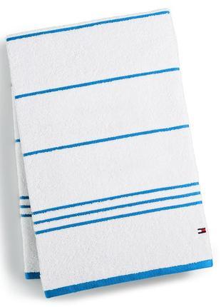 Полотенце tommy hilfiger. оригинал.банное,пляжное,хлопок,большое,махровое,рушник