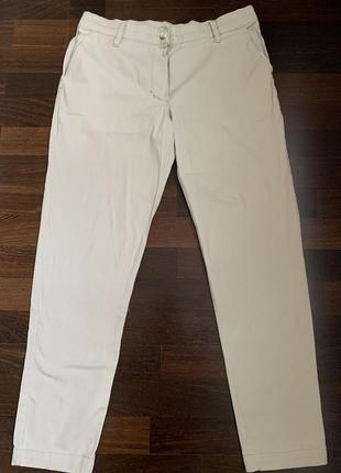 Летние брюки бренда @don.bacon бежевого цвета