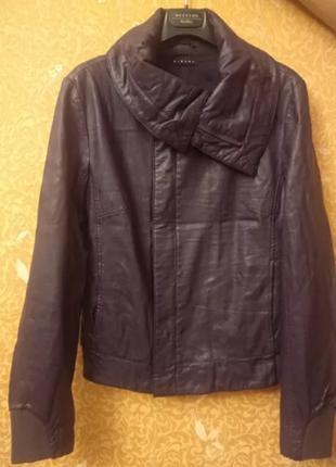 4b8472493ee Кожаные куртки женские 2019 - купить недорого вещи в интернет ...