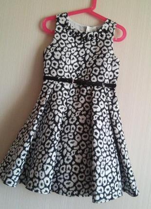 Платье matalan котон девочка 8 лет(128см) как новое
