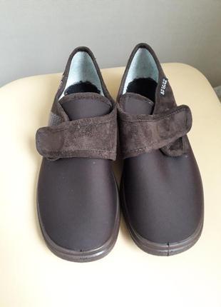 38 р. dr. orto ортопедические польские туфли ботинки тапочки