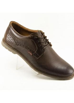 Весенне-летние туфли bumer brown