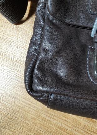 Мужская кожаная сумка strellson3 фото