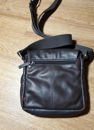 Мужская кожаная сумка strellson4 фото