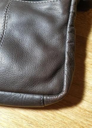 Мужская кожаная сумка strellson5 фото