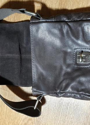 Мужская кожаная сумка strellson7 фото