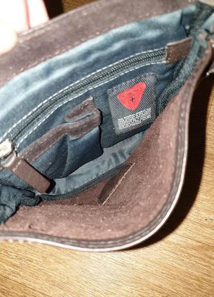 Мужская кожаная сумка strellson8 фото