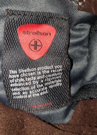 Мужская кожаная сумка strellson10 фото