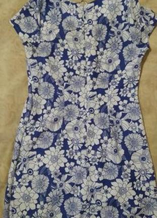 Замечательное платье из льна