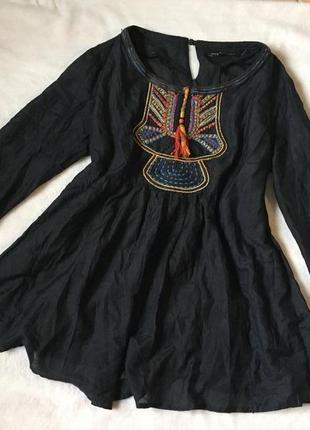 Жіноча блузка в етно стилі від zara