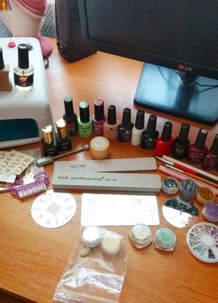 Набір гель лаків для фарбування нігтів
