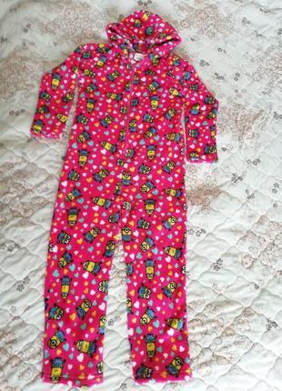 Слип  пижама девочке миньон гадкий я 2 на 9-10лет