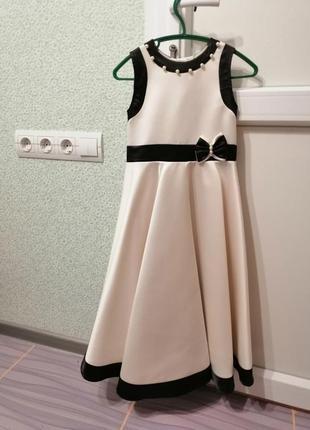 Выпускной нарядное платье 5-6 лет