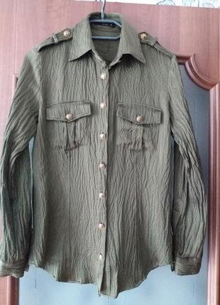 Etro шелковая рубашка 40