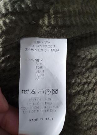 Etro шелковая рубашка 408 фото