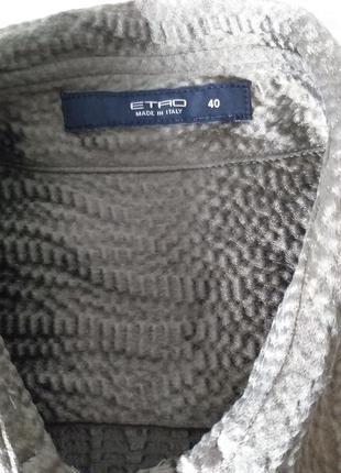 Etro шелковая рубашка 409 фото