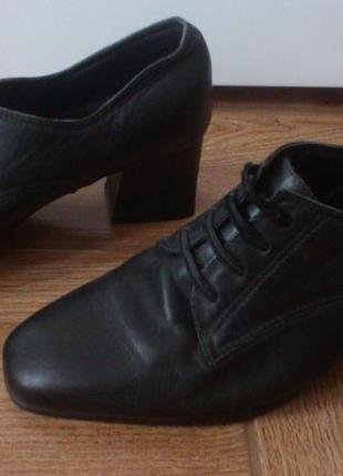 Ботинки ботильоны marks & spencer с технологией footglove comfort