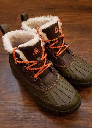 Nike acg осенние непромокаемые сапожки кроссовки