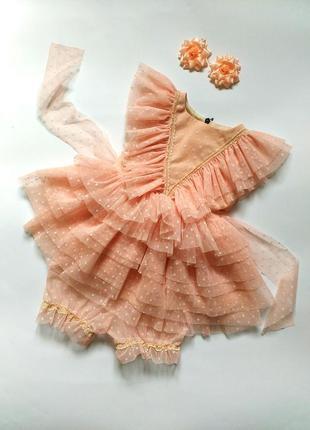 Нежное платье на годик