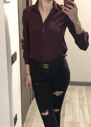 Сорочка в горошок від new look {акція!!!! 🎁 1 + 1 = 3️⃣!!!}