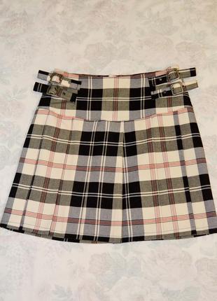 Красивая юбочка в клетку от tom tailor, 36 размер