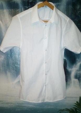 Школьная рубашка на подростка 14 лет