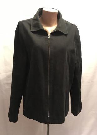 Мягкая мужская/унисекс/куртка под джинс на подкладке