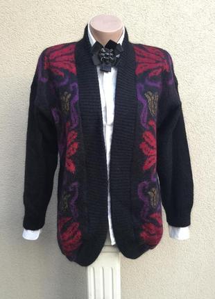 Винтаж,вязанный,эксклюзив кардиган,кофта,жакет,пиджак,мохер,дизайнер studio dee