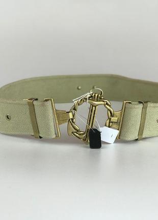 Стильный пояс с золотой фурнитурой  ac1919008 sportmax2 фото