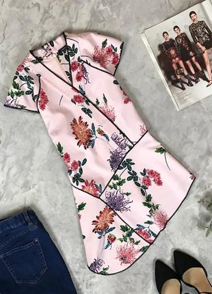 Женственная блуза с ассиметричной длиной  bl1919033 marks & spencer