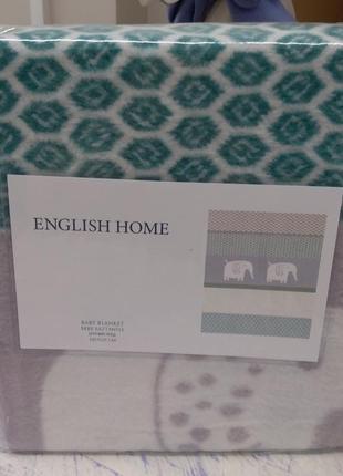 Детский плед english home