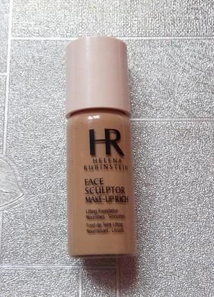 Тональный крем-лифтинг для сухой кожи helena rubinstein face sculptor makeup rich