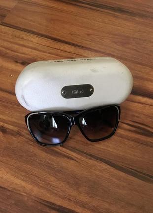 Солнцезащитные очки chloé. оригинал.