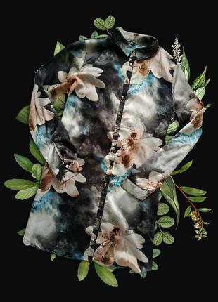 Шикарное платье-рубашка