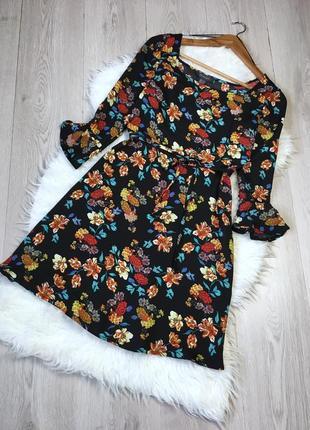 Акция!!!только до 27.05. тотальные скидки!!!платье в цветочный принт