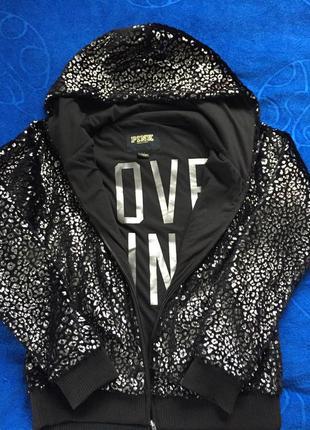Крутая куртка victoria's  secret love pink оригинал