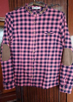 Рубашка женская фланелевая
