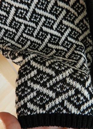 Кардиган теплый абстракция2 фото