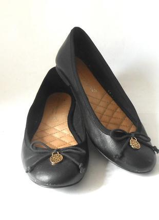 Фирменные балетки / туфли на низком ходу next, р.37 код k3707