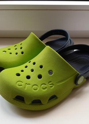 Фирменные шлепанцы crocs(original).
