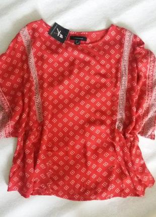 Пляжна блуза в бохо-стилі